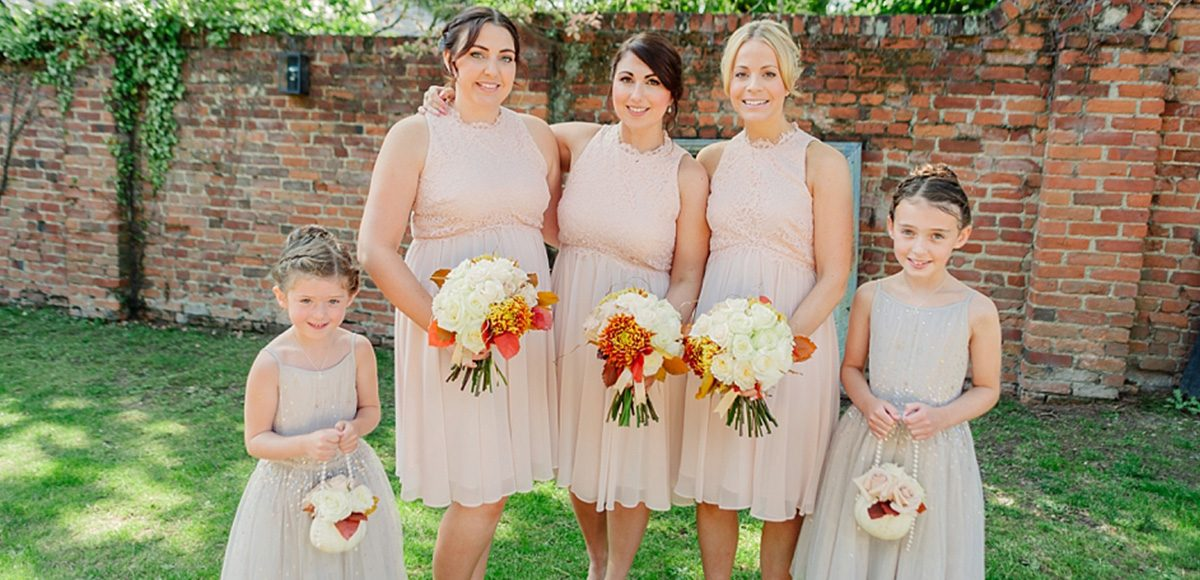Blush Coast bridesmaids dresses