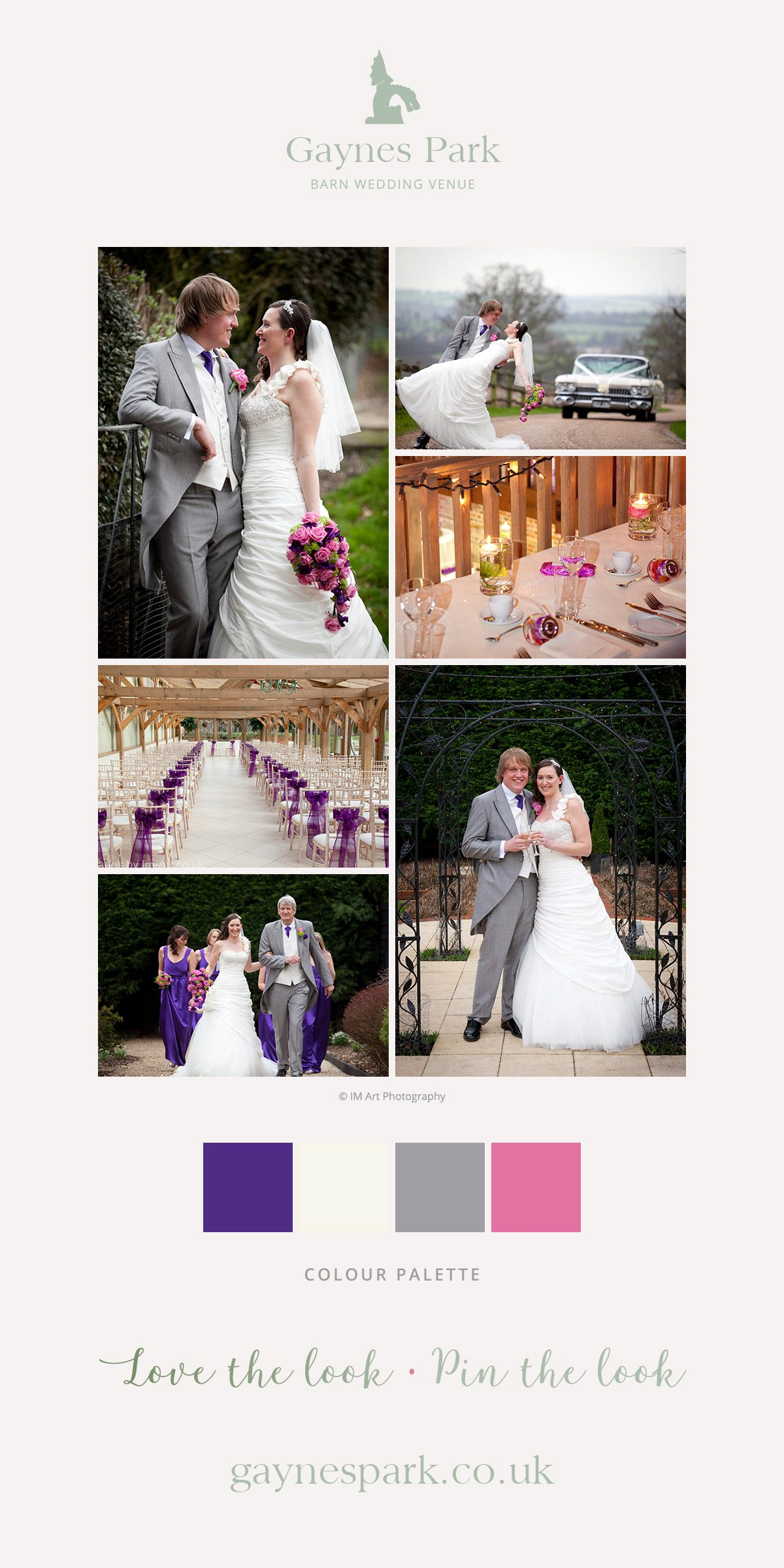 Jane and Stuart's real life wedding at Gaynes Park