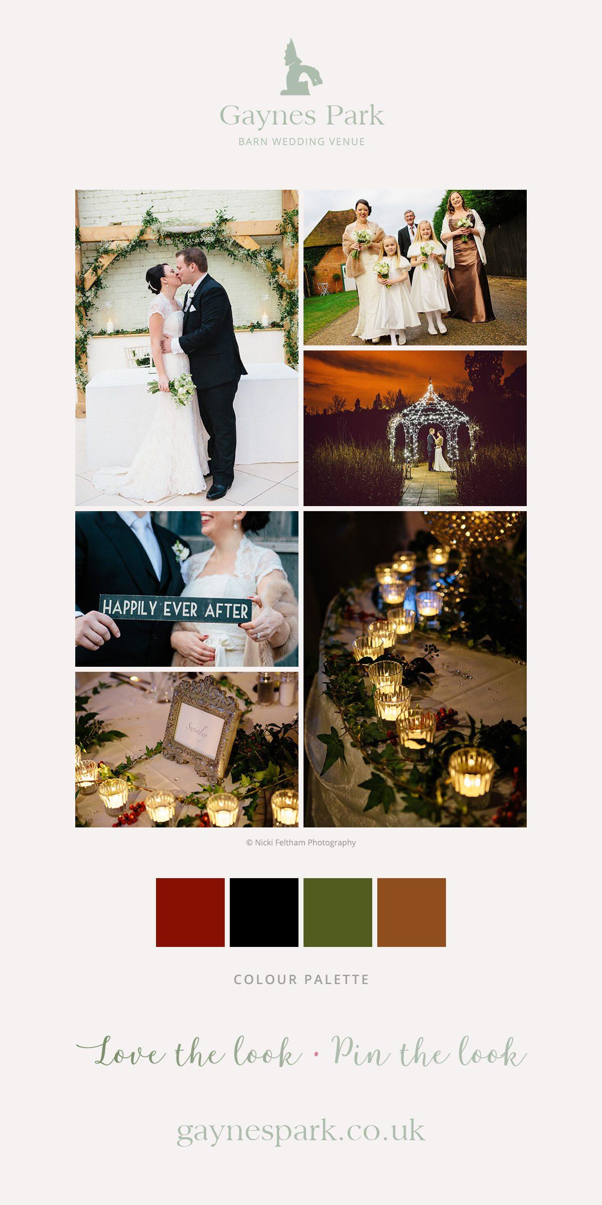 Lorna and Mike's real life wedding at Gaynes Park