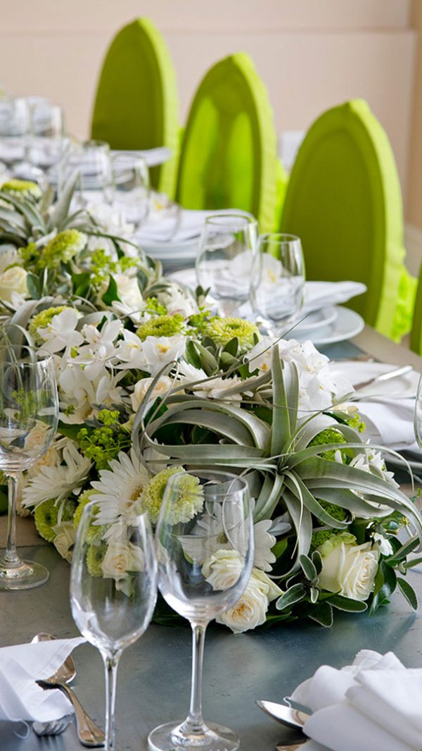 Flowers perfect for a green and white wedding - wedding ideas
