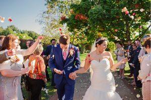Celebrate a stunning autumn wedding at this beautiful barn wedding venue in Essex