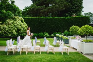 Walk down the Long Walk wedding aisle and into the stunning Orangery - ceremony wedding venues in Essex