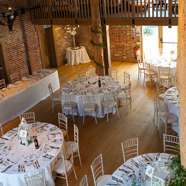 The stunning Mill Barn at Gaynes Park in Essex