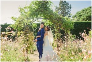 The gardens at Gaynes Park can be enjoyed all year round - autumn wedding