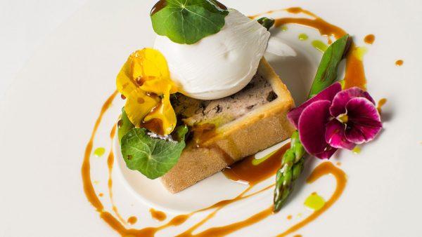 Expertly prepared wedding catering at Gaynes Park - wedding menu