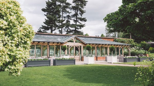 Hold your wedding ceremony in the Orangery at one of the finest wedding venues in Essex