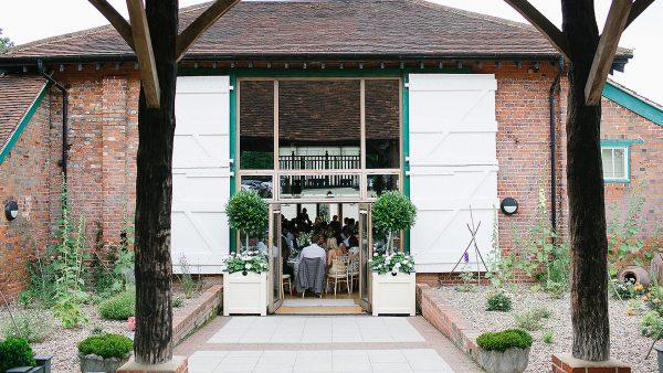 Enjoy truly exception wedding food inside the beautiful Mill Barn - wedding venues in Essex