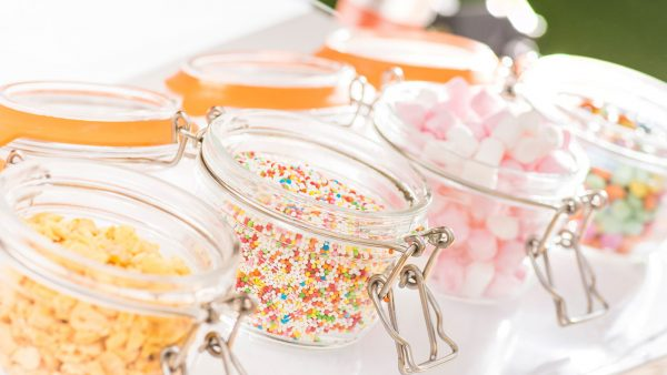 A wedding sweet buffet is a fun addition to add to your wedding day - wedding ideas