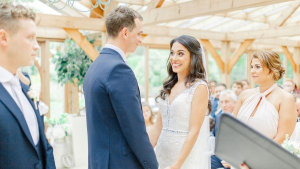 Say I do in the light and airy Orangery licensed for wedding ceremonies and with neutral décor