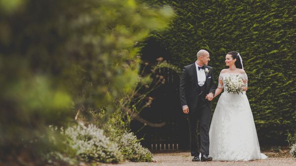 Enjoy the breathtaking gardens with colour all year round at this stunning winter wedding venue in Essex