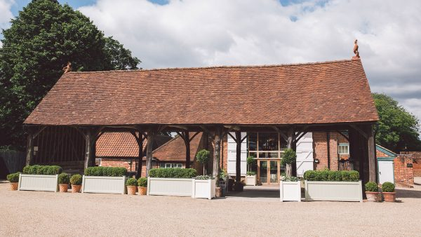 The Gather Barn is the perfect summer wedding venue with its open-air feel - summer wedding ideas