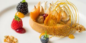 The wedding catering team Galloping Gourmet offer a superb dining experience - wedding food