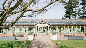 The Orangery is a beautiful setting for a wedding ceremony - wedding barns essex
