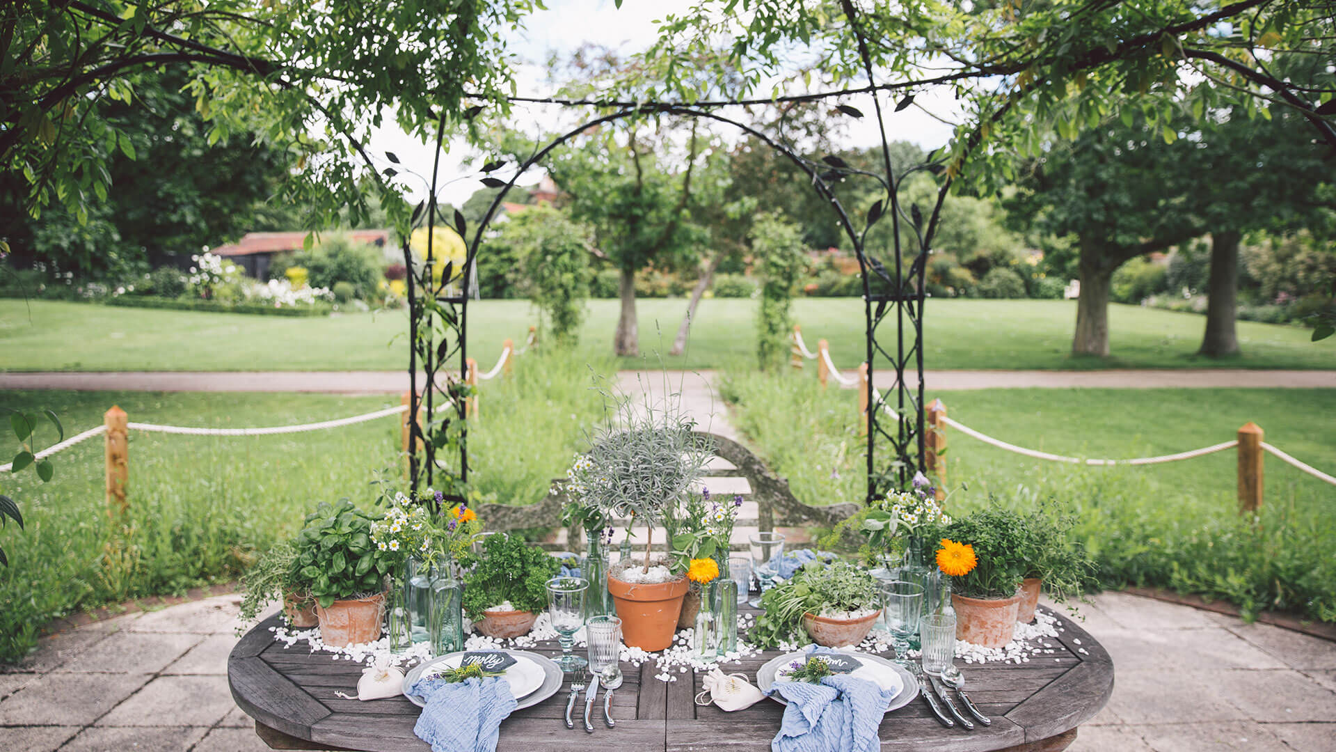 Outdoor Wedding Venue In Epping, Essex