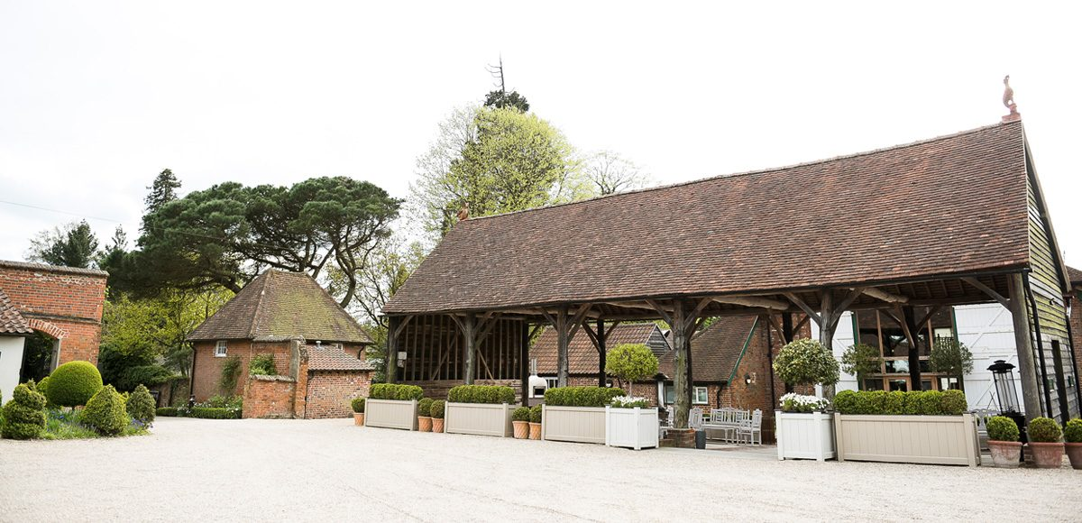 The Gather Barn at Gaynes Park wedding venue in Essex