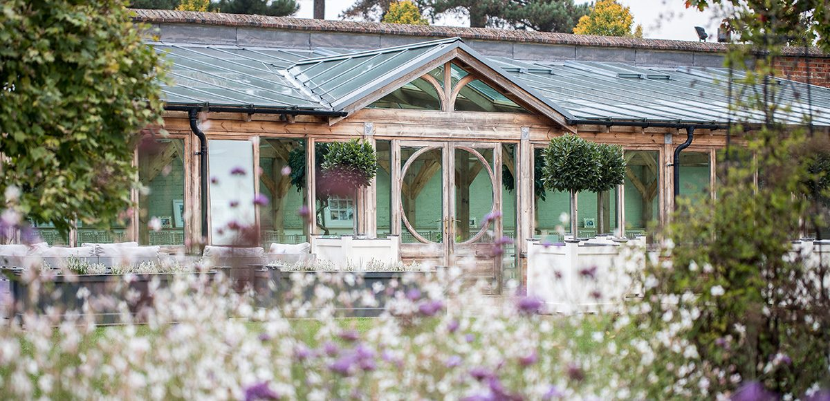 The Orangery at Gaynes Park is a beautiful setting for wedding ceremonies – wedding venues Essex