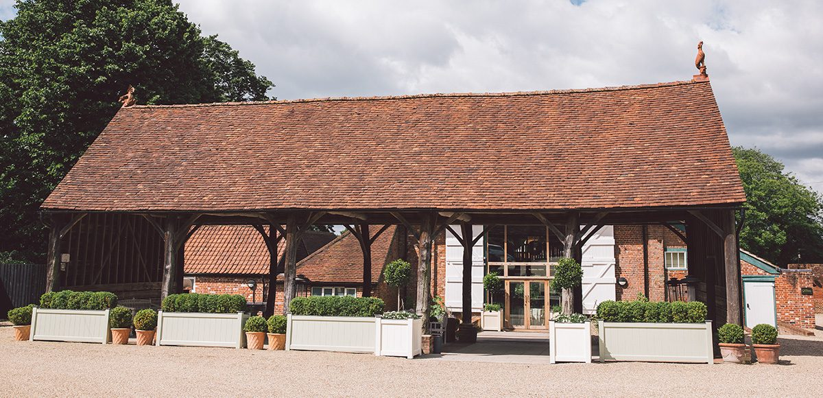 The Gather Barn at Gaynes Park in Epping