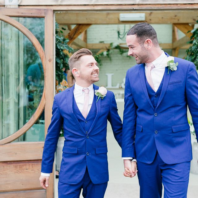 Mark and Lee's real life wedding at Gaynes Park in Essex