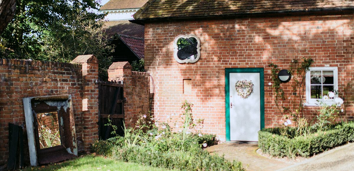 The Apple Loft Cottage at Gaynes Park is the perfect place for bridal preparations