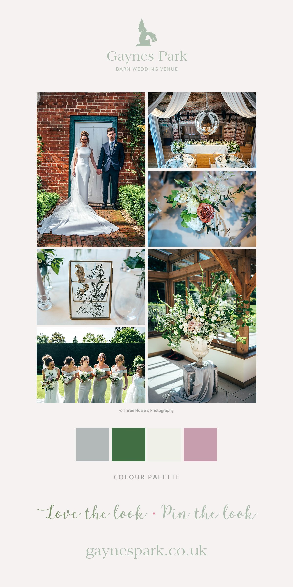 Jessica and Jason's real life wedding at Gaynes Park