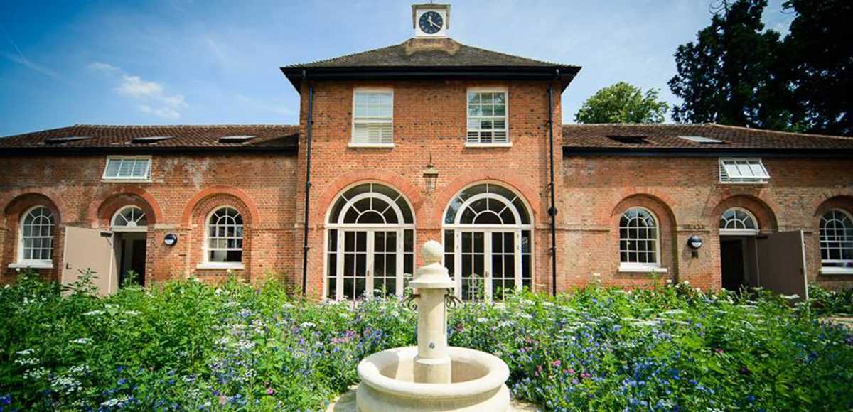 Wedding guests can stay in the Coach House at Gaynes Park wedding venue in Essex on the evening of your wedding day
