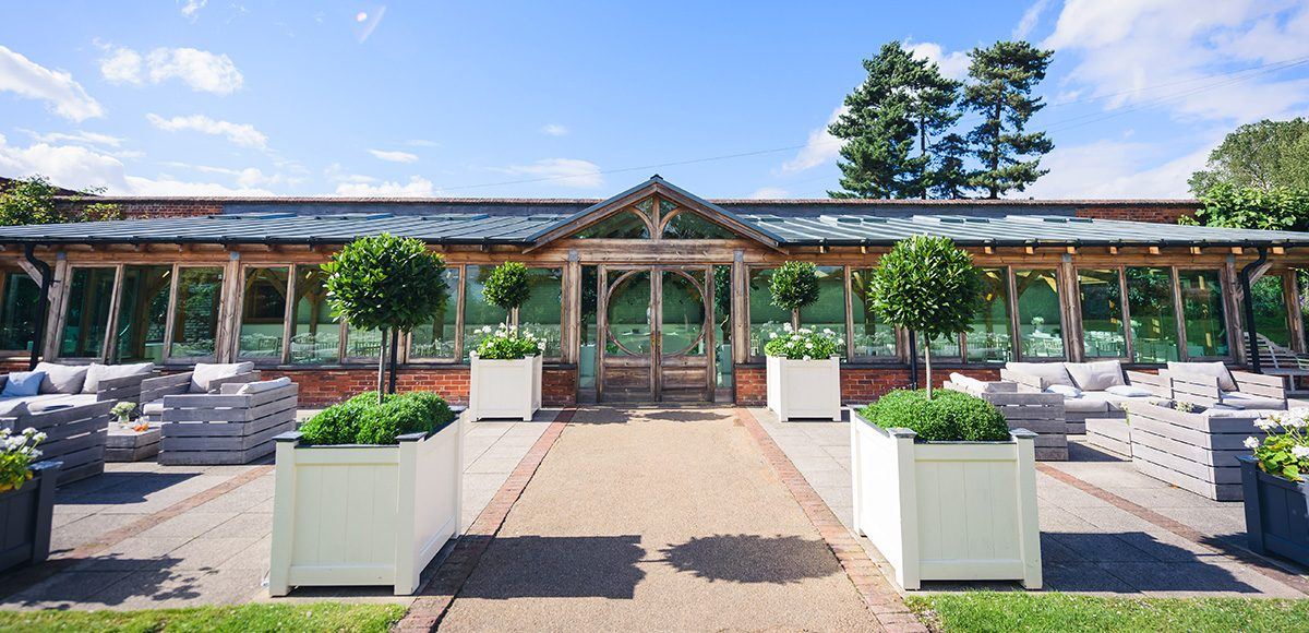 The Orangery at Gaynes Park in Essex is perfect for a summer wedding