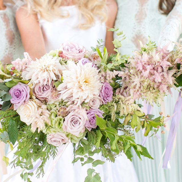 Our Favourite Spring Wedding Flowers at Gaynes Park