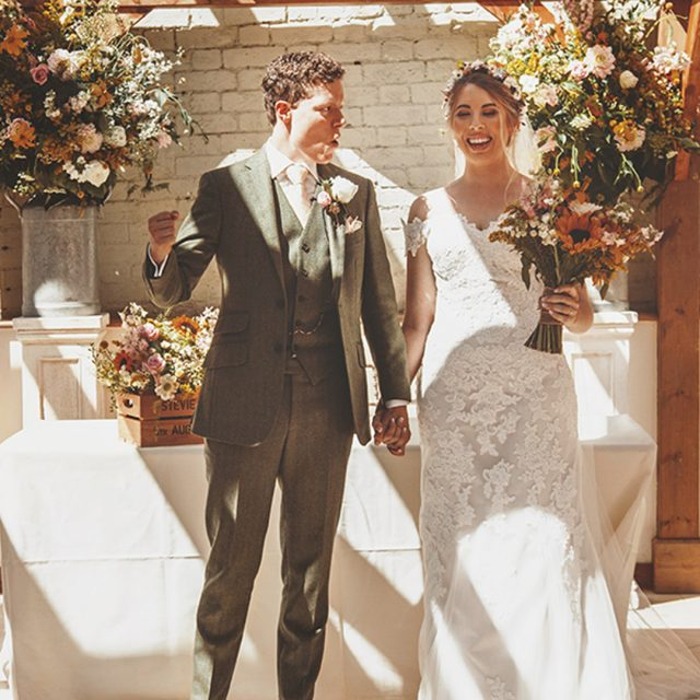Stevie & Kit's Glorious Summer Wedding at Gaynes Park