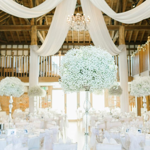 Colour me beautiful - All white wedding ideas