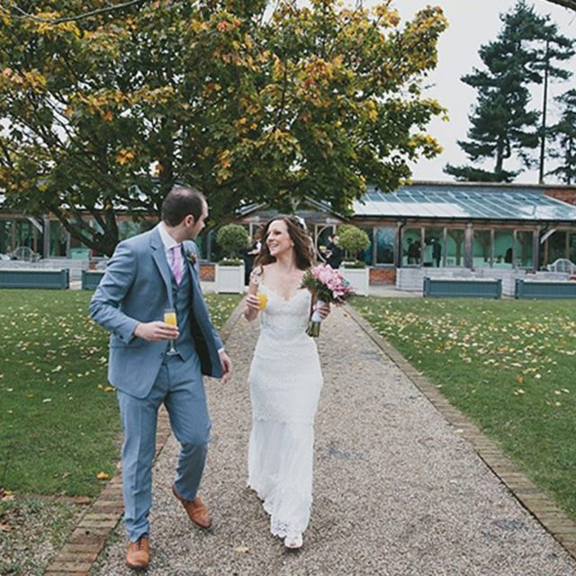 A beautiful Halloween inspired wedding at Gaynes Park in Essex