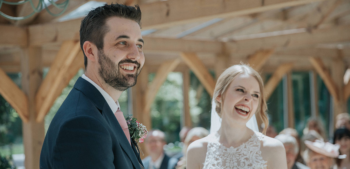 Steph & Sonny's Rose Gold Summer Wedding